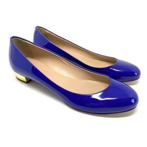 J. Crew Janey Patent Leather Flats Made in Italy